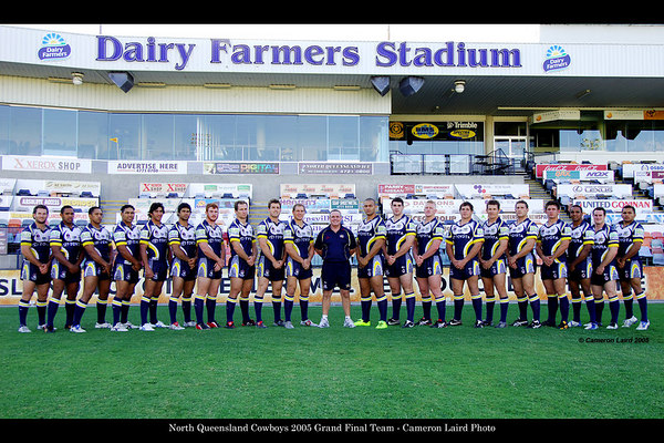 North Queensland Cowboys Team Photos