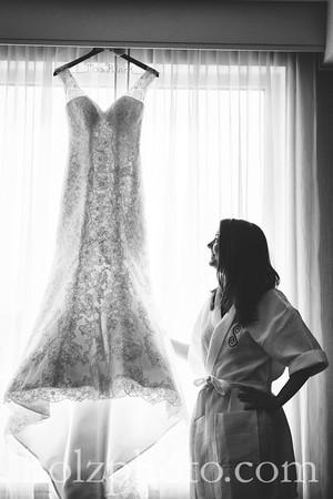 Sarah & Jared B/W Wedding Photos