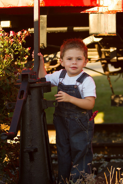 Jack at three years old