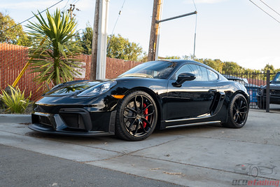 Porsche GT4 - Black - Full Wrap