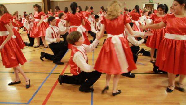 2011Dance Practice@church