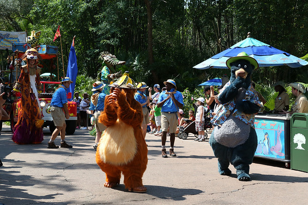 Disney Animal Kingdom Parade