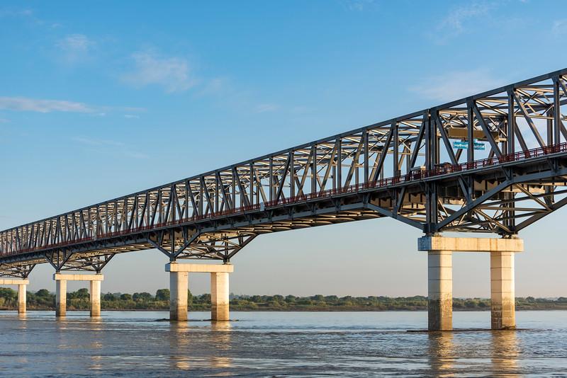 Pakokku Bridge, Myanmar