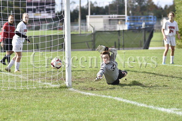 10-22-16 Sport Defiance @ Shawnee Girls Soccer Sectional