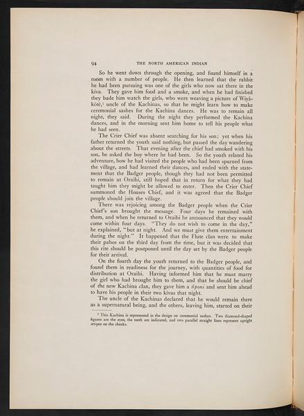 The Hopi, 1922