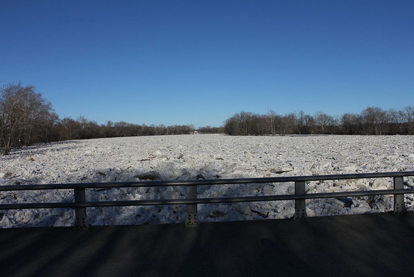 Still Shots of the Wabash River Ice 2/21/14