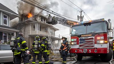 Vine St. 2nd Alarm (Bridgeport, CT) 1/13/21