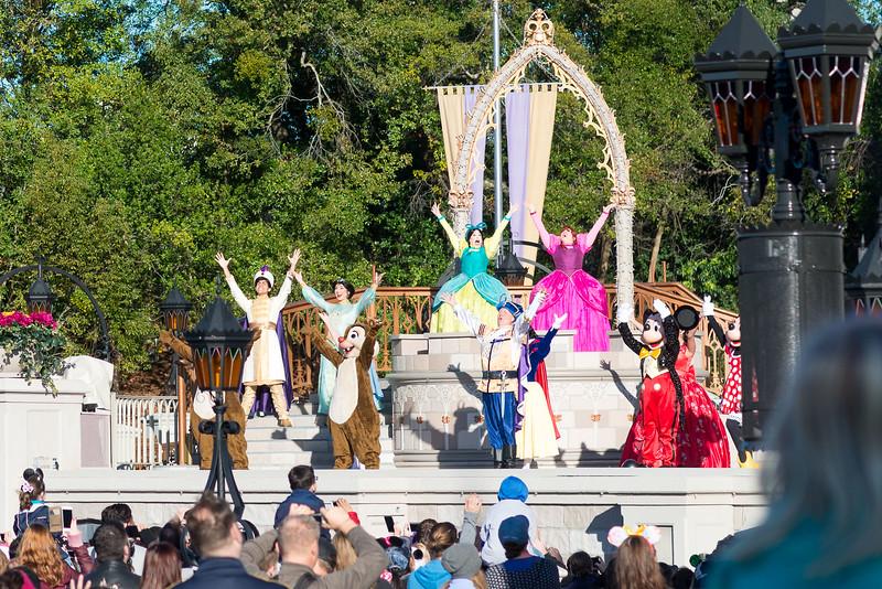 Opening Show Finale - Magic Kingdom Walt Disney World