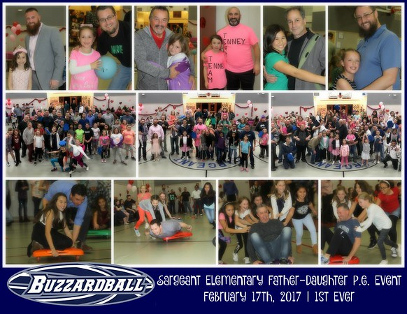 FEBRUARY 17TH, 2017 | Sargeant Elementary Father-Daughter P.E. Event