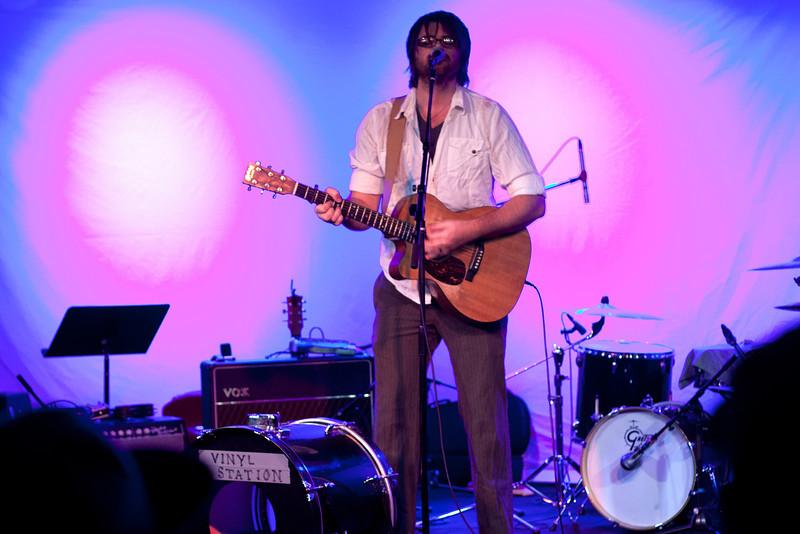 Vinyl Station playing some charity for EBB.com at the Cresent Ballroom Phoenix, AZ