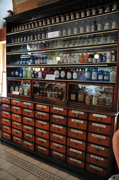 The oldest pharmacy in Ukraine. Maybe 200 or 250 years old.