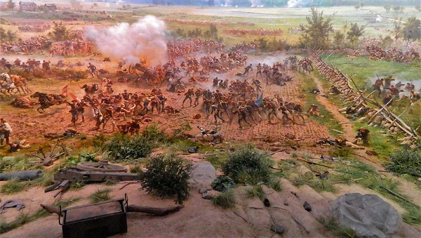 11/18/2017 Gettysburg with Tom and Bonney