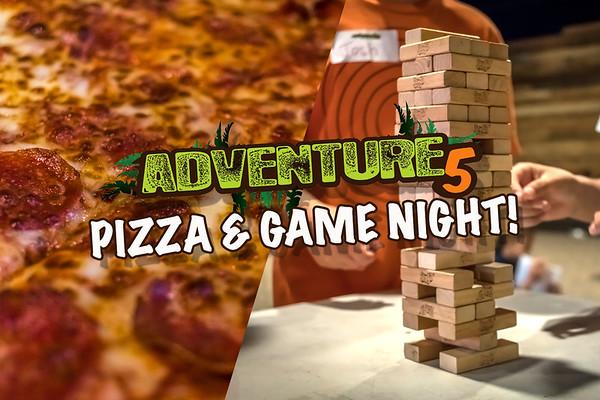 2016 Adventure 5 Game Night ~ Vista Campus