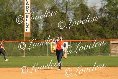 JV Softball vs Siegel 4/27/18