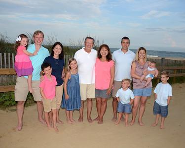Dennis Family Beach Portraits Aug. 21, 2018