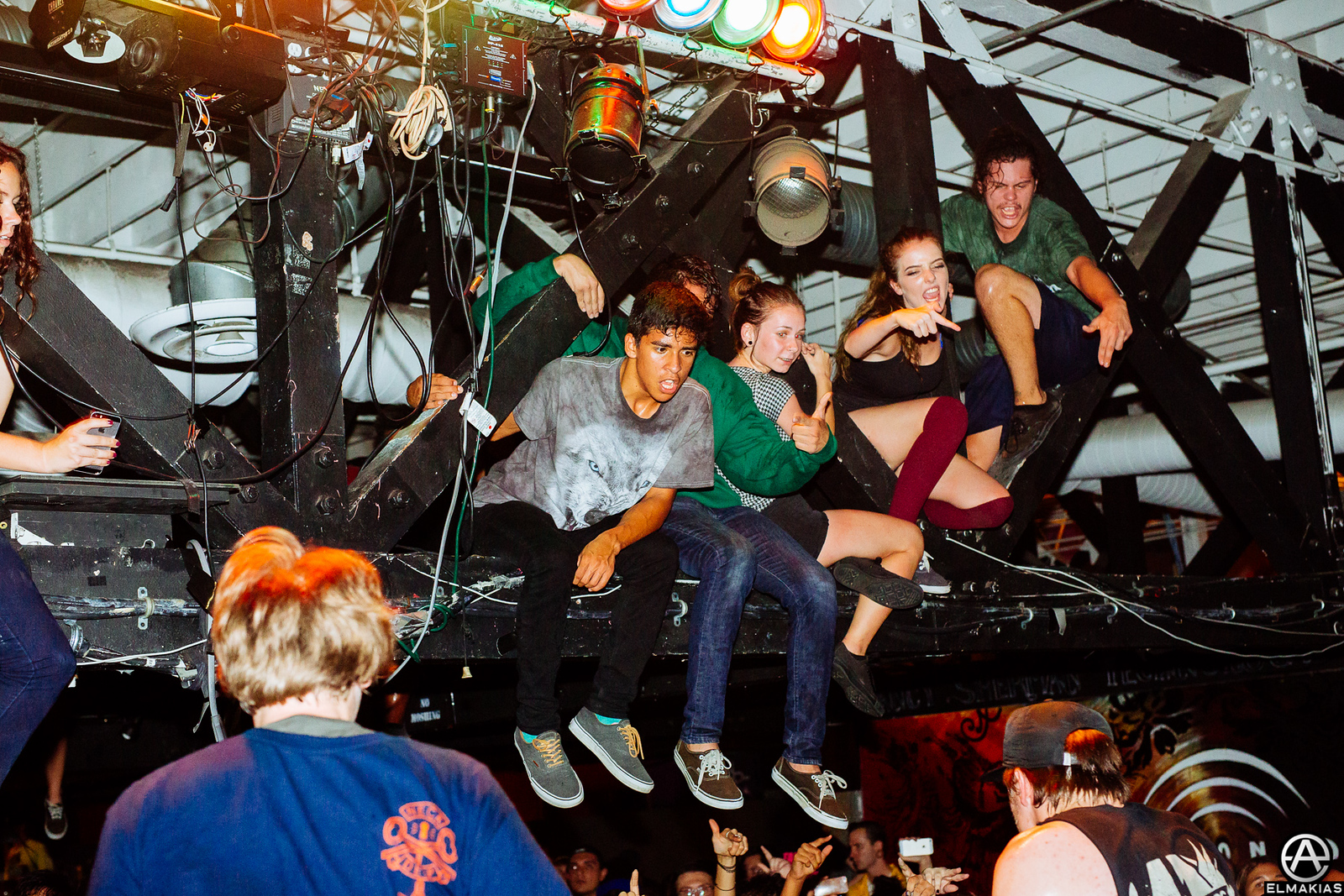 Neck Deep fans in San Diego by Adam Elmakias