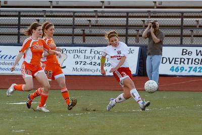 Boyd Soccer Game vs McKinney North