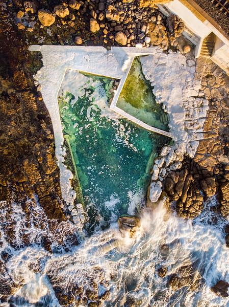 Wooley's tidal pool, 2020
