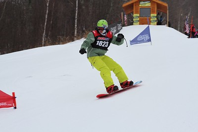 1/07/2017 Slalom, Giant Slalom #1 and Special Olympics Snowboard Race at Windham Mountain