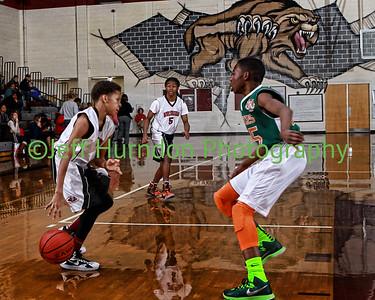 UGMS 8th Grade boys Basketball with Half Time show