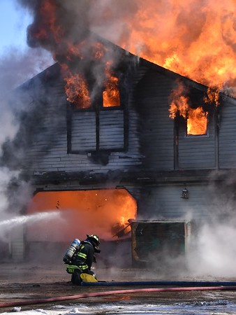 2 Alarm Barn Fire - Lisbon, CT - 1/29/21