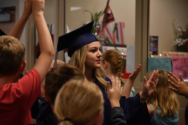 Graduation Walk Through