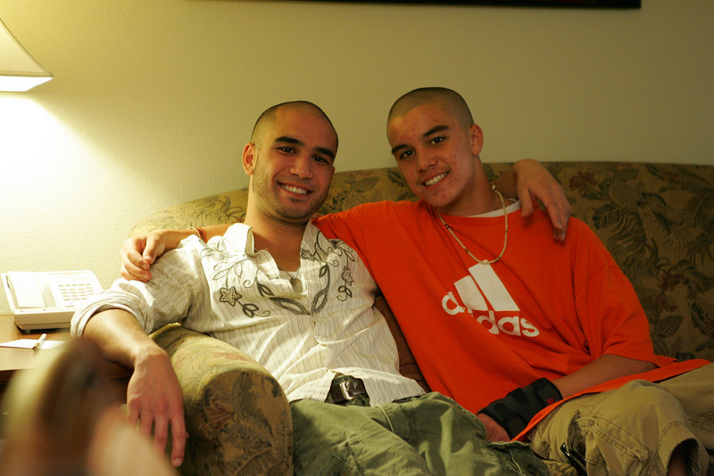 Robbie and Payton.