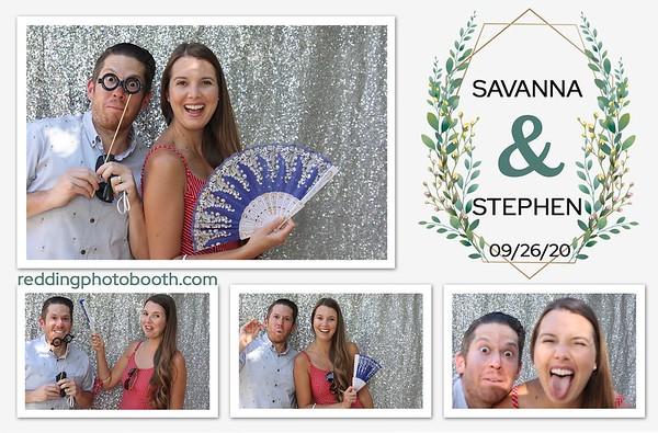Stephen and Savanna Wedding - September 26, 2020