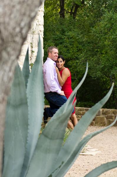 Yidira & Matt Engagement at Wildflower Garden