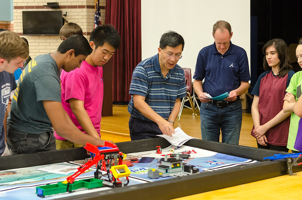 FLL Pratice at CRJH 11-13-15