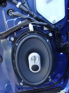 2013 Lexus Ct200h with premium audio Front Speaker Installation - USA