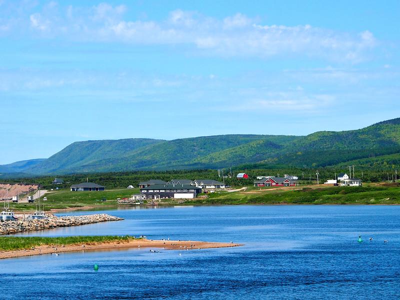 Margaree Harbour on Cape Breton Island