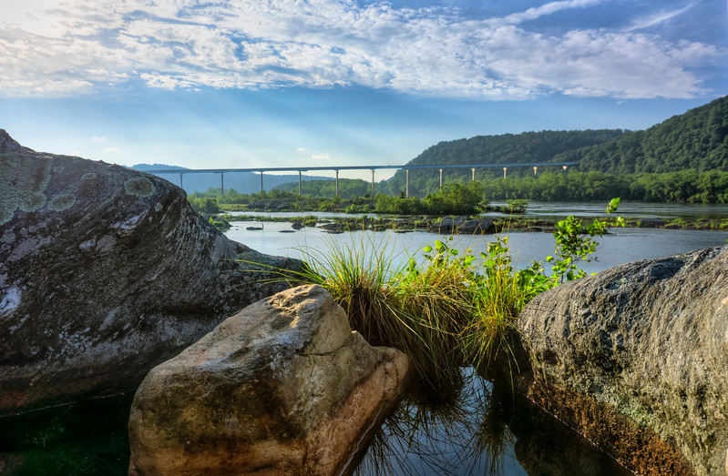 holtwood - rocks and puddle norman wood bridge landscape (p).jpg