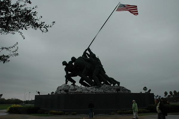 Journal Site 57:  Iwo Jima Memorial - Harlingen