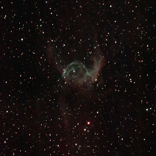 NGC2359 - Gum 4 - Thor's Helmet in Canis Major - 4/2/2021 (Processed cropped stack)
