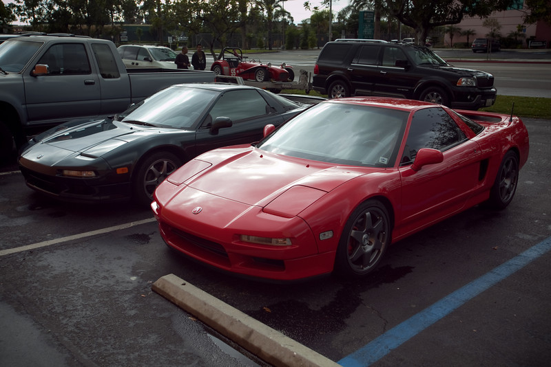 While this is a club event, I did not expect to see many NSXs today...and not just because it has been raining
