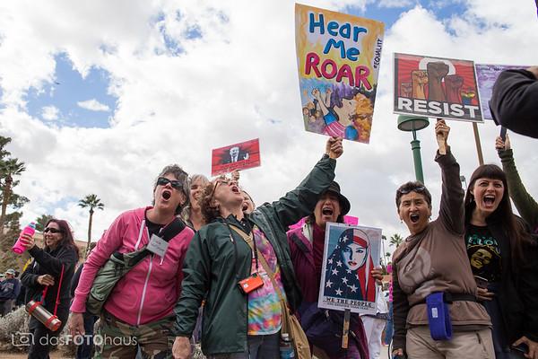 2017 Women's March Phoenix
