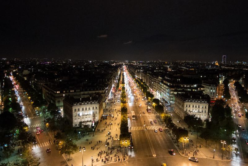 Avenue de Champs Elysees