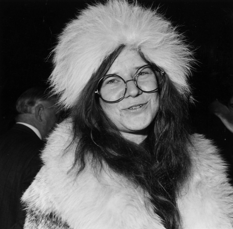 . 21st April 1969:  American blues rock singer Janis Joplin (1943 - 1970).  (Photo by Stroud/Express/Getty Images)
