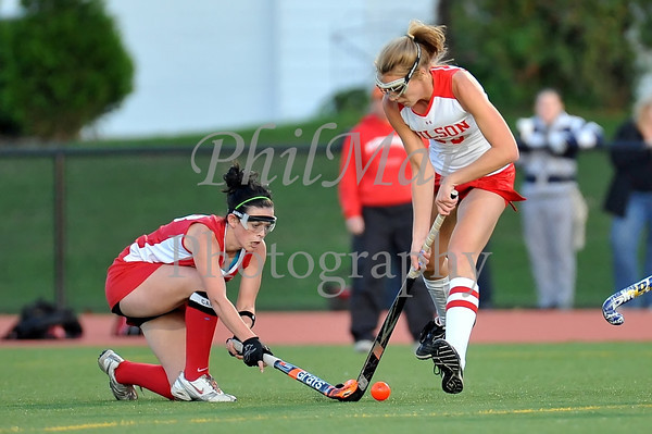 Wilson VS Fleetwood High School Field Hockey 2011 - 2012