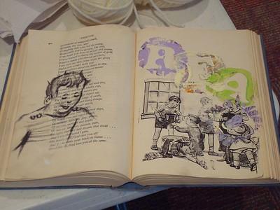2012-10-19 Artisans on the Plaza: Allison Rhea Altered Books