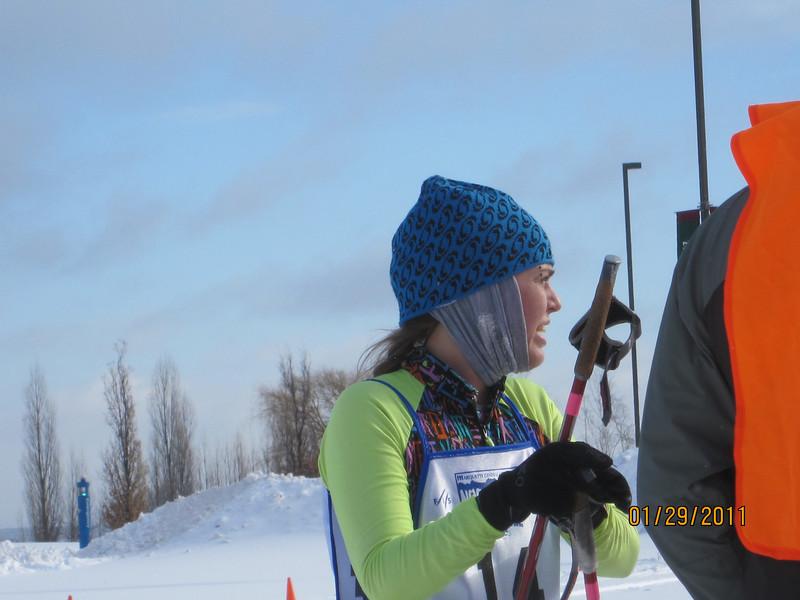 Kristina Owen. 1st place women's 51K Classic.