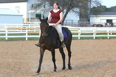 Blain and her Horse - Sept 21, 2007