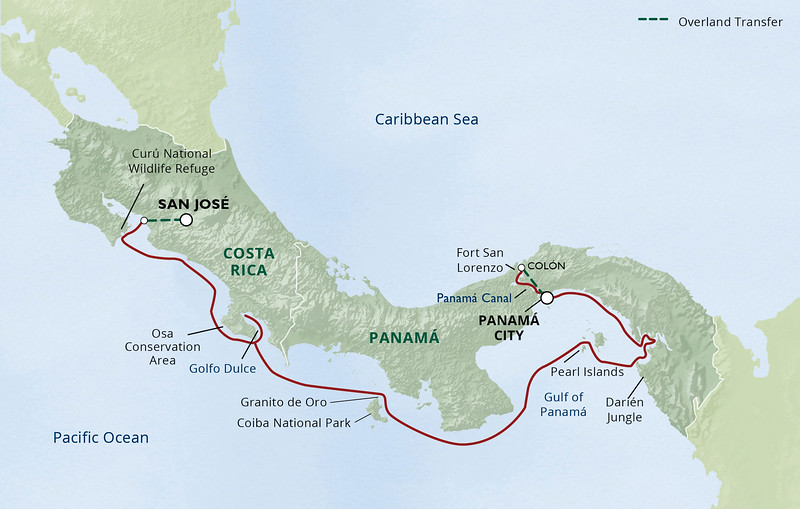 UnCruise Adventures- Central America cruise