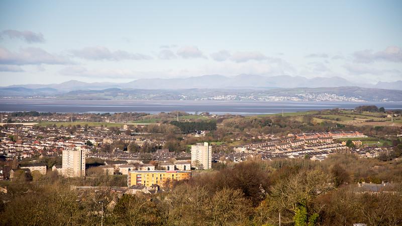 Lancaster from Williamson Park