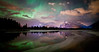 """Spellbound"" X<br /> <br /> November 14th aurora at Vermilion Lakes, Banff National Park, Alberta, Canada."