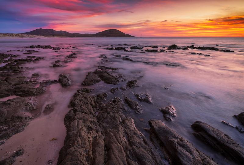 Color & Contrast over Baja California Sur