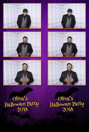 Oliva's Halloween Party