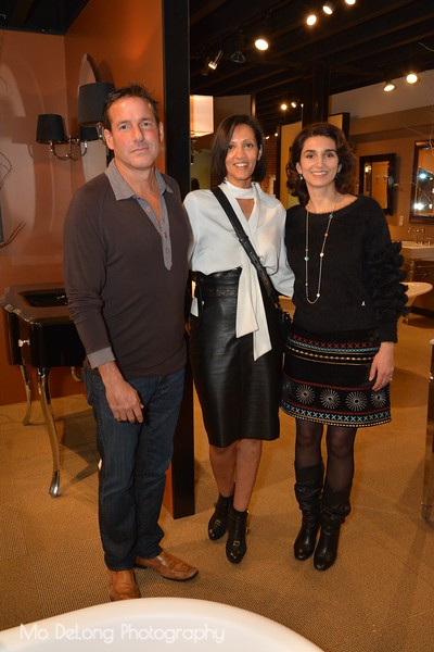 Andrew Gregg, Yael Putterman and Adele Salierno