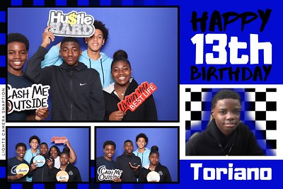 Toriano's 13th Birthday 2/15/20